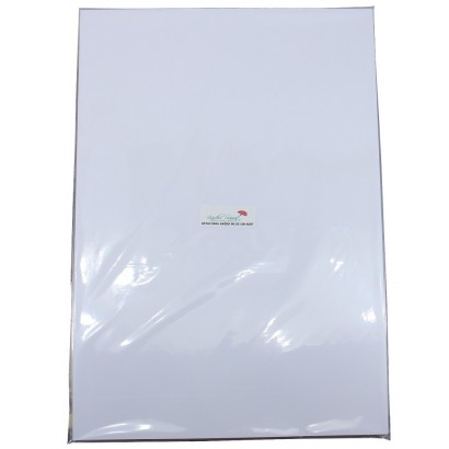 100 Pieces 35x50 White Marbling Paper 90 gr
