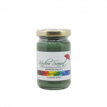 LEAF GREEN MARBLING PAINT 105 CC ACADEMY SERİES