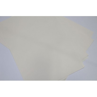 250 Pieces 35x50 Ivory Marbling Paper 80 gr