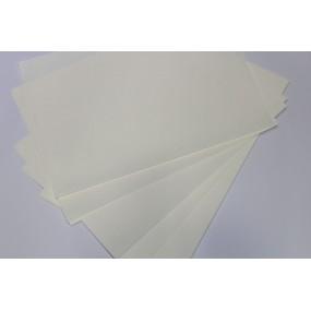 50 Adet 35x50 Krem Rengi Profesyonel Ebru Kağıdı 95 gr