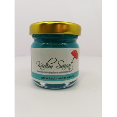 Turquoise Marbling Paint 40 cc